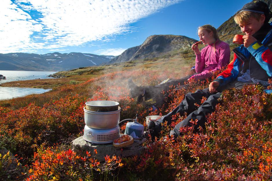 Høsten i fjellet byr på nydelige farger og fantastisk høstluft.