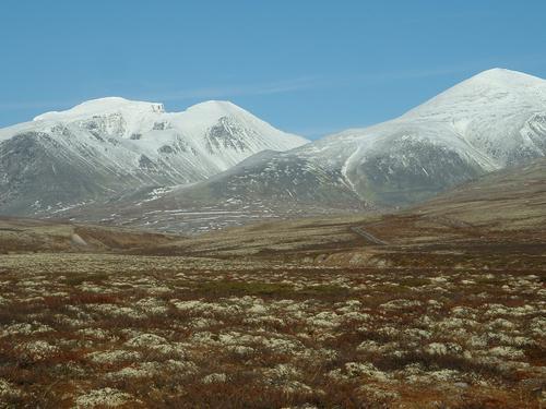 Bjarte Røsnes delte Rondanestien i to etapper
