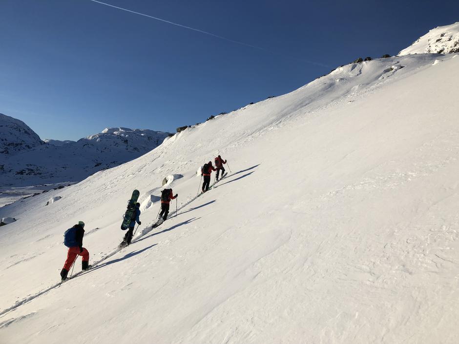 Skitur ved Haukeliseter.