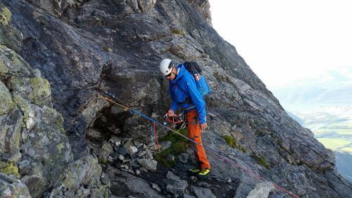Turreferat klatre- og topptursamling i Romsdalen