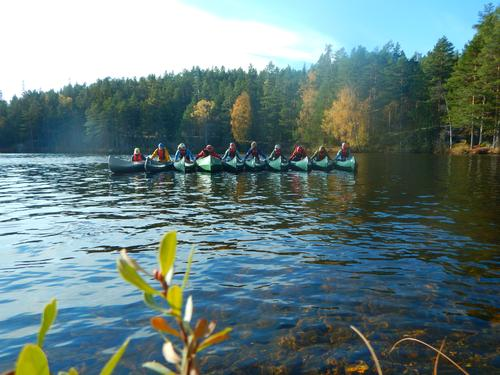 Grunnkurs kano på Sønstevatn