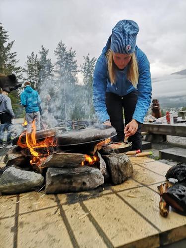 Karine på TIN-camp