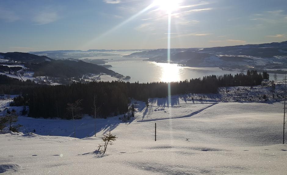 Utsikt fra Biskopåsen