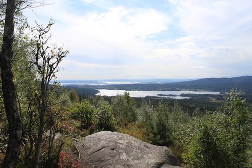 Flott utsikt fra Barlindåsen
