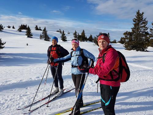 skitur på Vingromsåsen