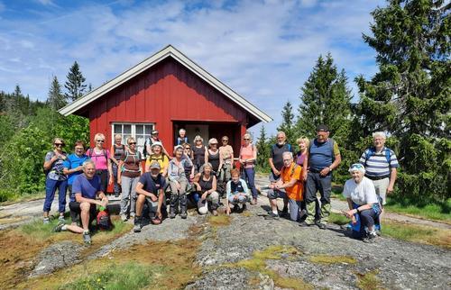 Seniortur til Nordsetra på Krokskogen