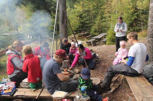 Grilling på Øverby 20. september