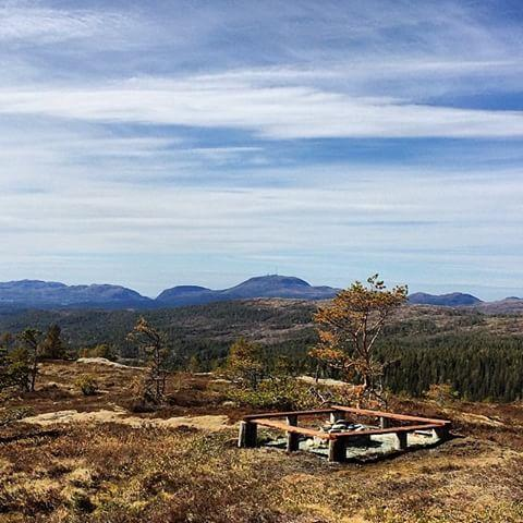 Utsikt fra Olavsbu
