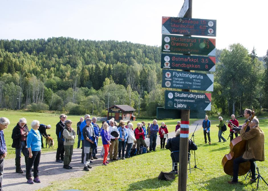 Flyktningeruta Apnet Den Norske Turistforening
