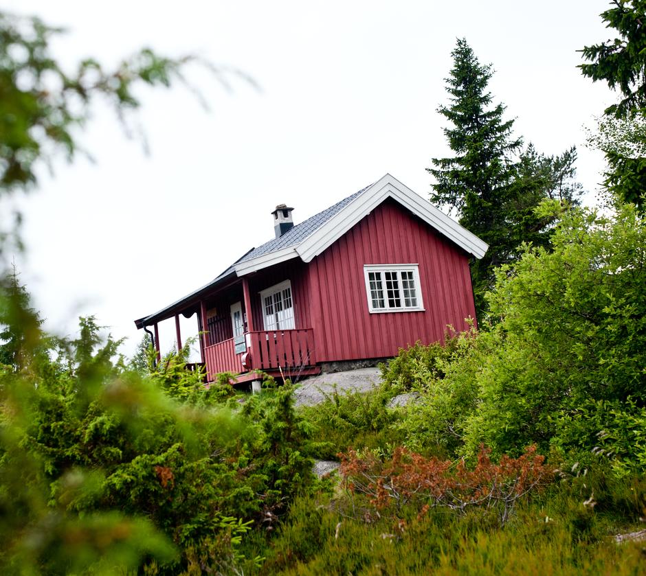 Hovdehytta i Vestmarka