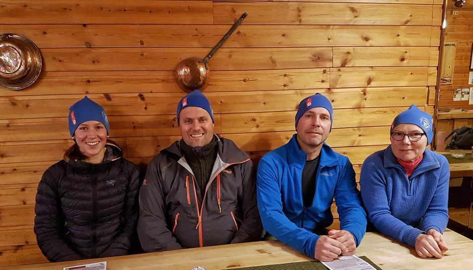 4 nye og flotte turledere ønskes velkommen til HTF.