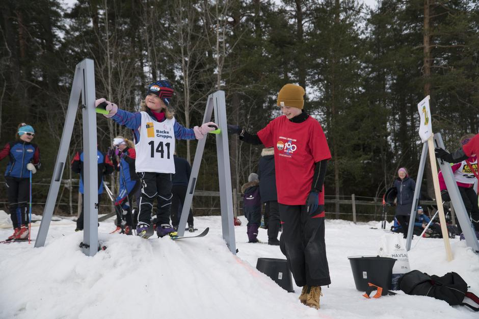 Skifest og familiedag på Losby i anledning Lørenskog Skiklubb sitt 100års jubileum.