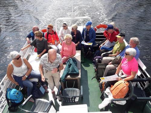 Båtturen til Siktesøya i Helgeroafjorden 17. juni