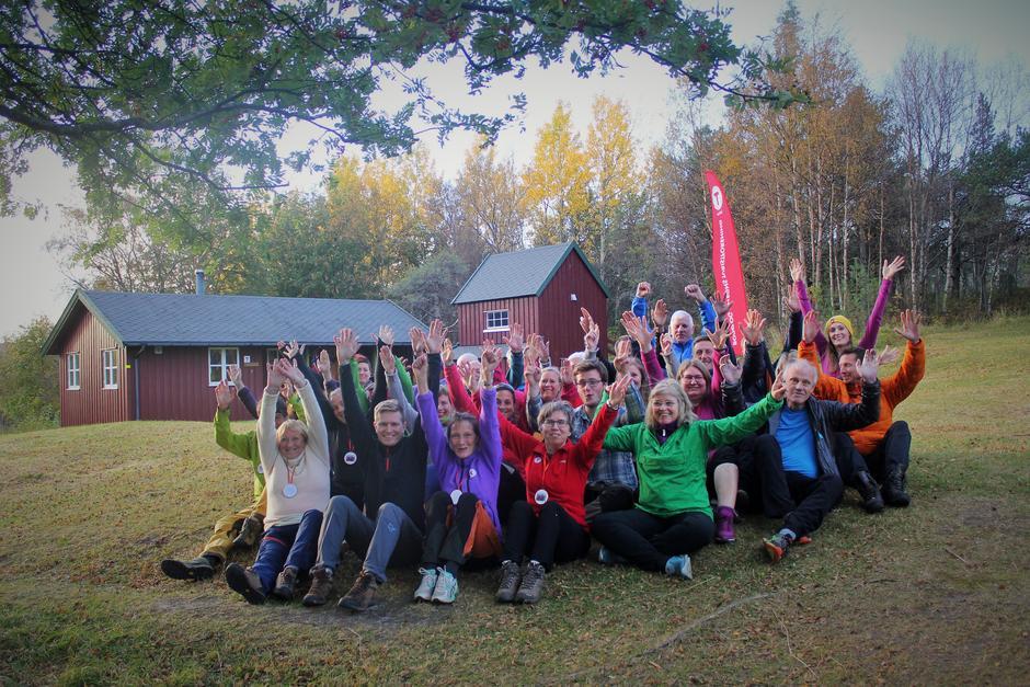 Turledersamling på Gjælentunet utenfor Bodø