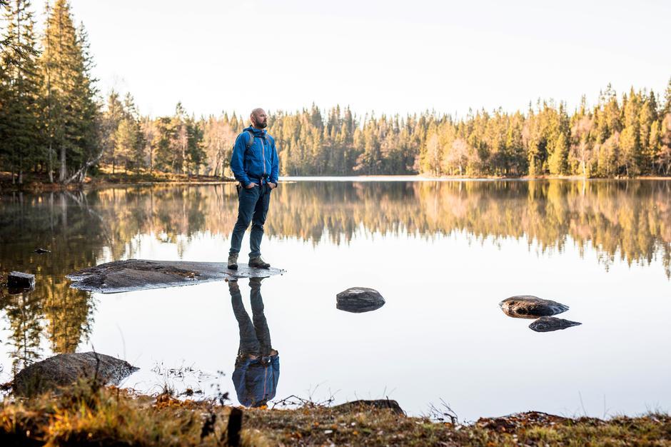 SPENNENDE OPPGAVER I SIKTE: Dag Terje har vært mye på tur i Norge og gleder seg til å jobbe med hobbyen sin.