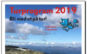 Turfaldar for 2019 er klar!