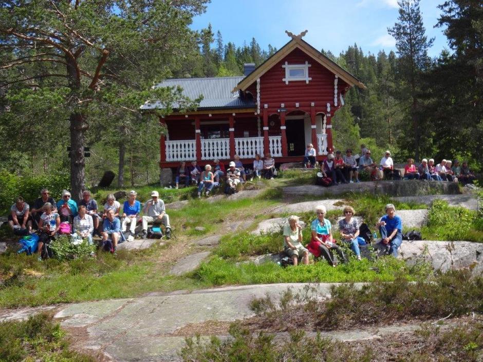 Goliaten, DNT hytte Drammensmarka