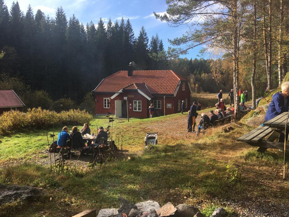 Sesongåpning av Eikedalen, 11 oktober 2020.