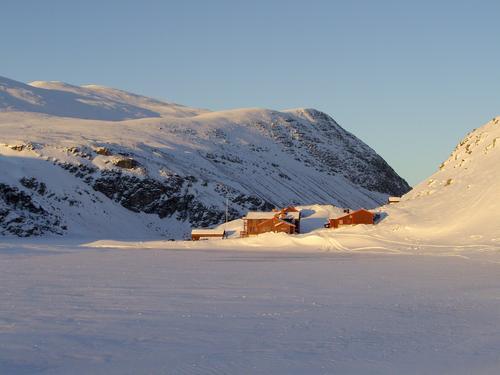 Vinter ved Rondvassbu i hjertet av Rondane Foto DNT Oslo