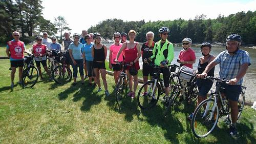 Sykkeltur i fantastisk vær søndag 5. juni