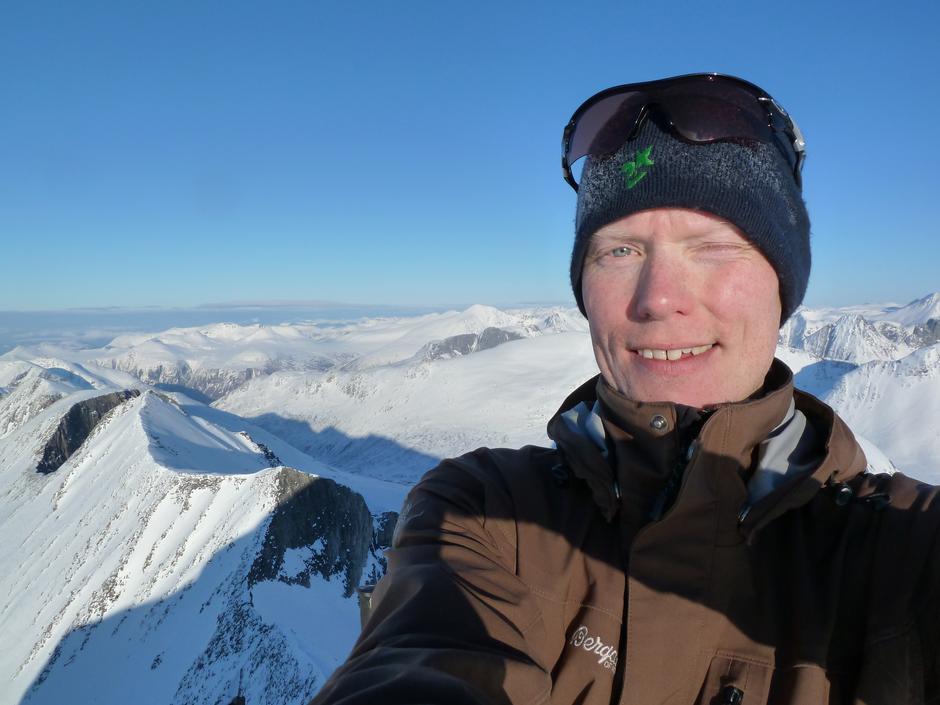 Øyvind - leder av Fjellgruppa
