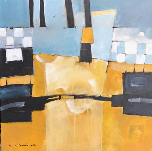 Bro over gult av Eli Oftedal Sømme.