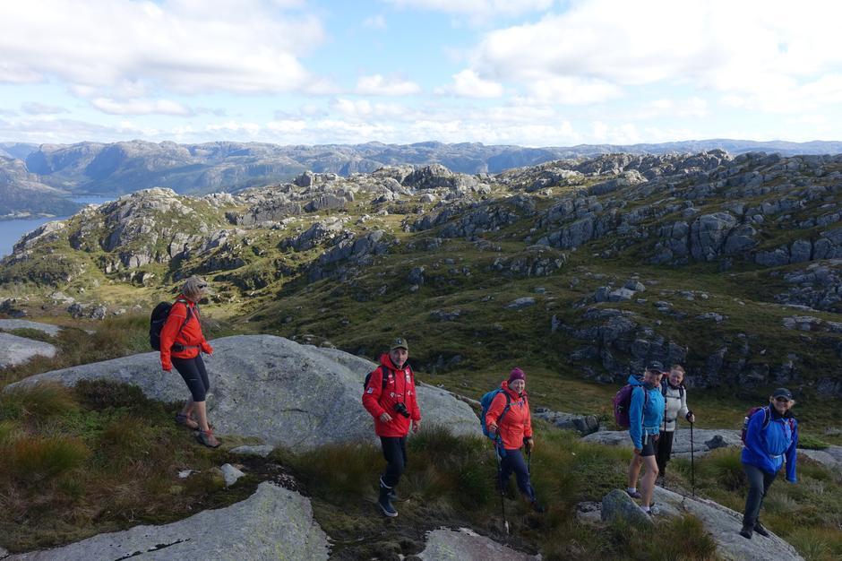 Fra en fellestur med Stavanger Turistforening til Faurefjell tidligere i år.