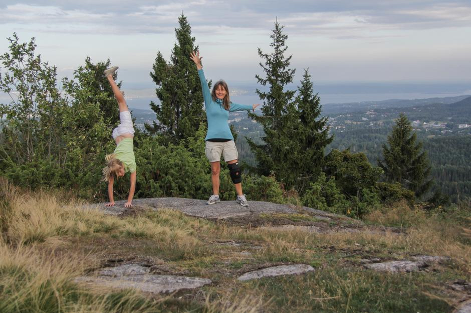 Har du vært Hovdehytta og sett panoramautsikten til alle årstider?