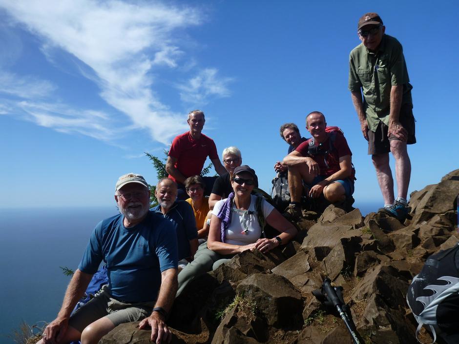 Oregon coast - Gruppe ved Neahkahnie Mountain