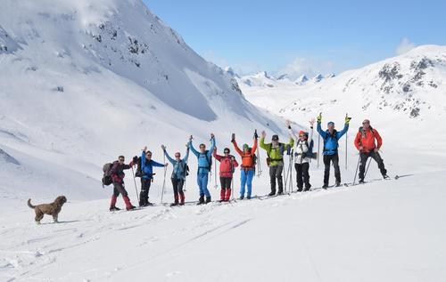 Skitur frå Mannsberg til Hjelle 23.april
