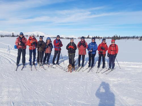 7. mars hadde Seniorgruppa skitur i Saurrunden