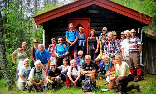 Tur på Krokskogen fra Fjeldsetra