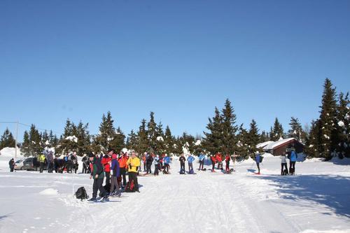 Bli med på langtur på ski - fra Sjusjøen til Gåsbu (evnt Budor)