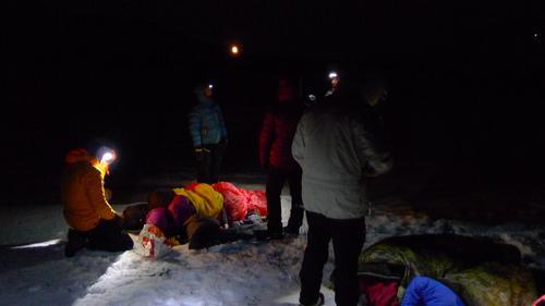 1. hjelp i mørke og vinter