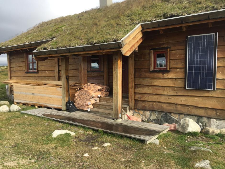 Selvbetjent hytta på Rauhelleren - 34 soveplasser