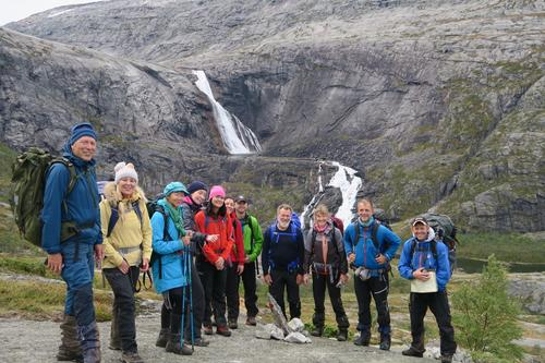 Hardangervidda vest , fine dagar i haustfjellet