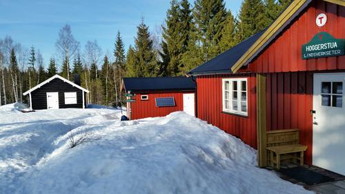 Flotte forhold for en skitur/trugetur på MerkedammeN-Lindsverkseter