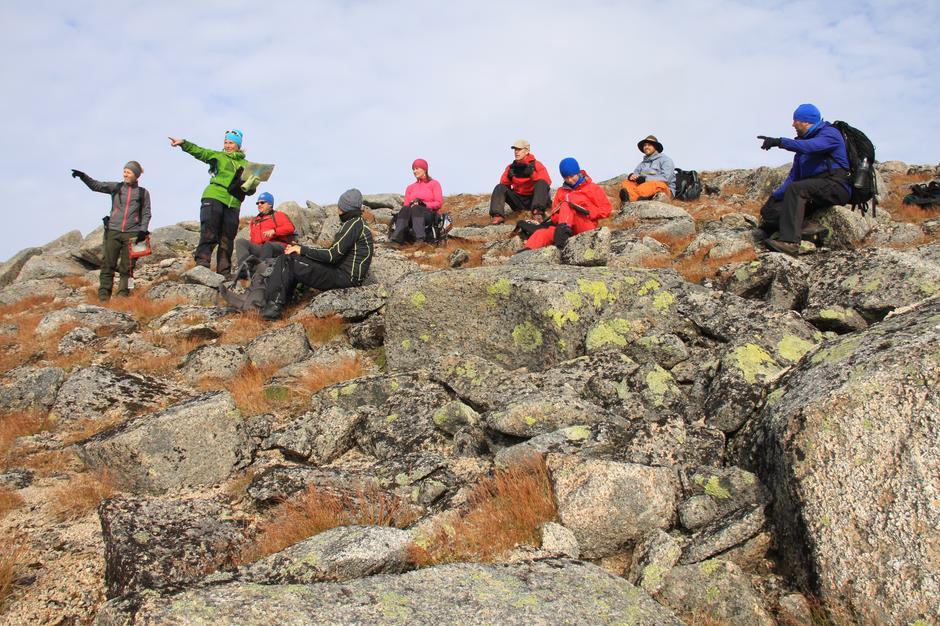 Fra turlederkurset i 2014/2015 i samarbeid mellom Vesterålen Turlag, Narvik og Omegn Turistforening og Lofoten Turlag.
