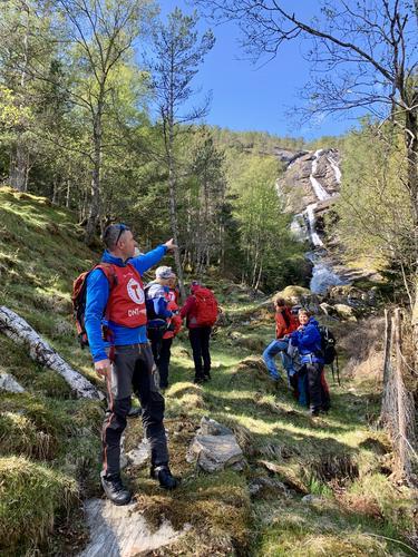 Ambassadør- og grunnleggjande turleiarkurs på Sylvarnes våren 2019