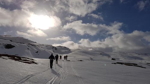 Vikafjellet - Finnbunuten - Myrkdalen fjellandsby