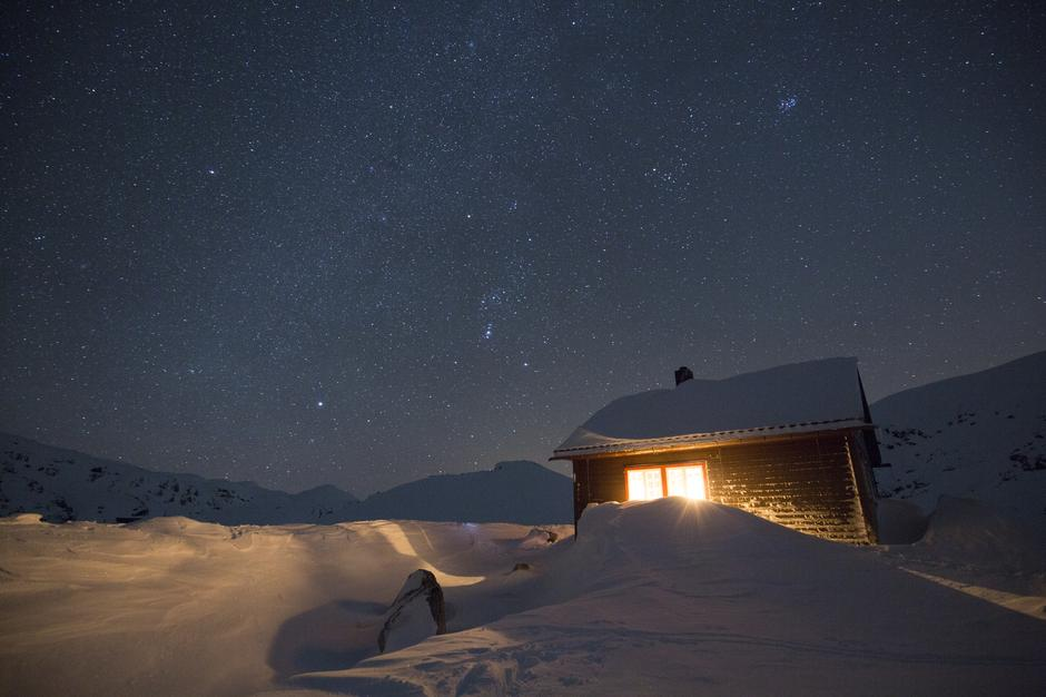 Tvinnestølen - ei av 550 hytter i DNT systemet