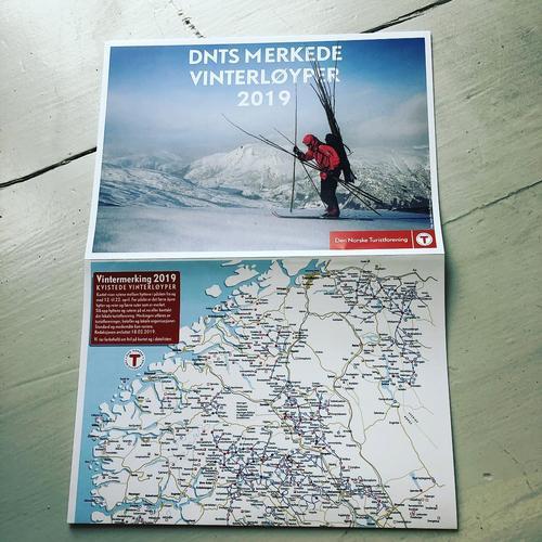 VINTERMERKEDE LØYPER - KART