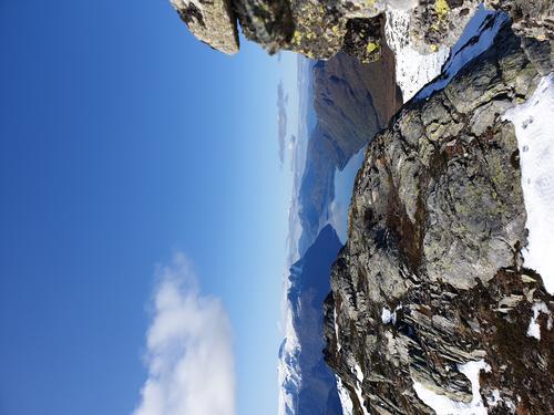Frå Svartegga utover Nordfjorden
