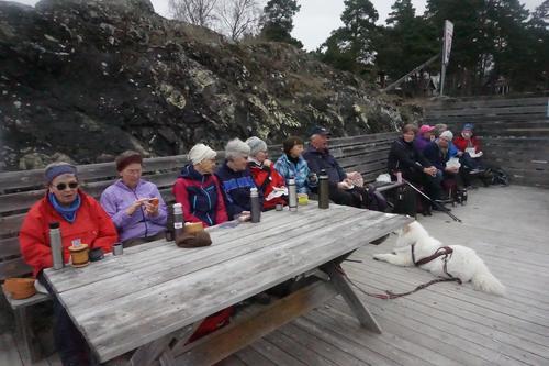Pause på Brønnøya