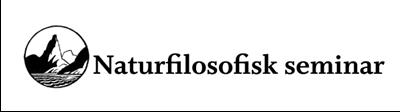 Logo Naturfilosofisk seminar