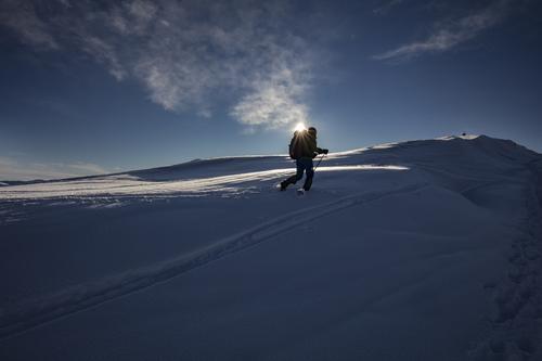 Livarden (683 moh) gir høyfjellsfølelse