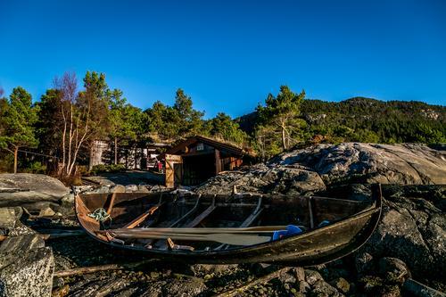 "Geitbåten ""Fjellgeita"" på Imarbu"