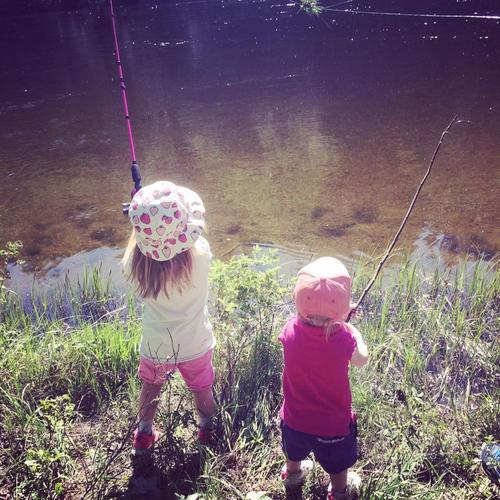 Fisketur på Hovsenga