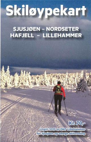 Skiløypekart for Lillehammerfjellet