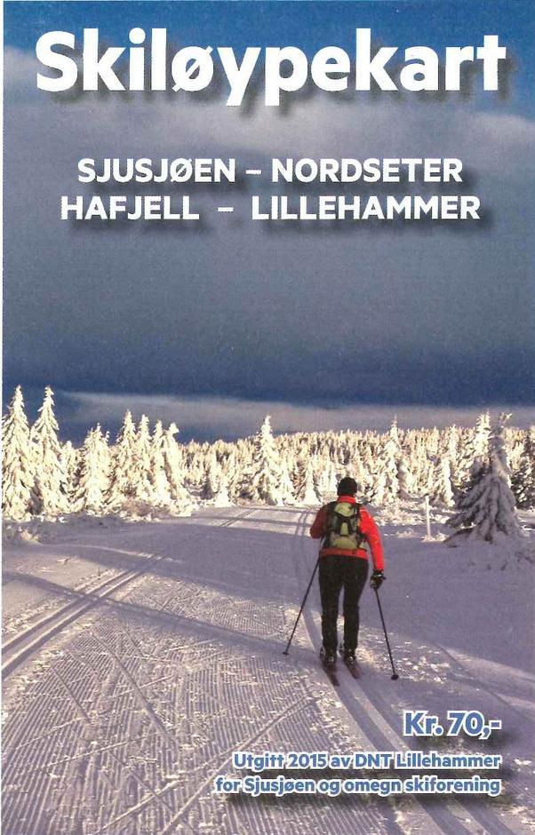 Sti- og løypekomiteen i DNT Lillehammer har gitt ut skiløypekart som dekker Sjusjøen, Nordseter, Hafjell og ned til Lillehammer. Utgivelsen er et samarbeid med Sjusjøen og omegn skiforening. Kartet viser et fantastisk nett med skiløyper, og har i tillegg avstandsmarkering i km mellom alle løypekryss.